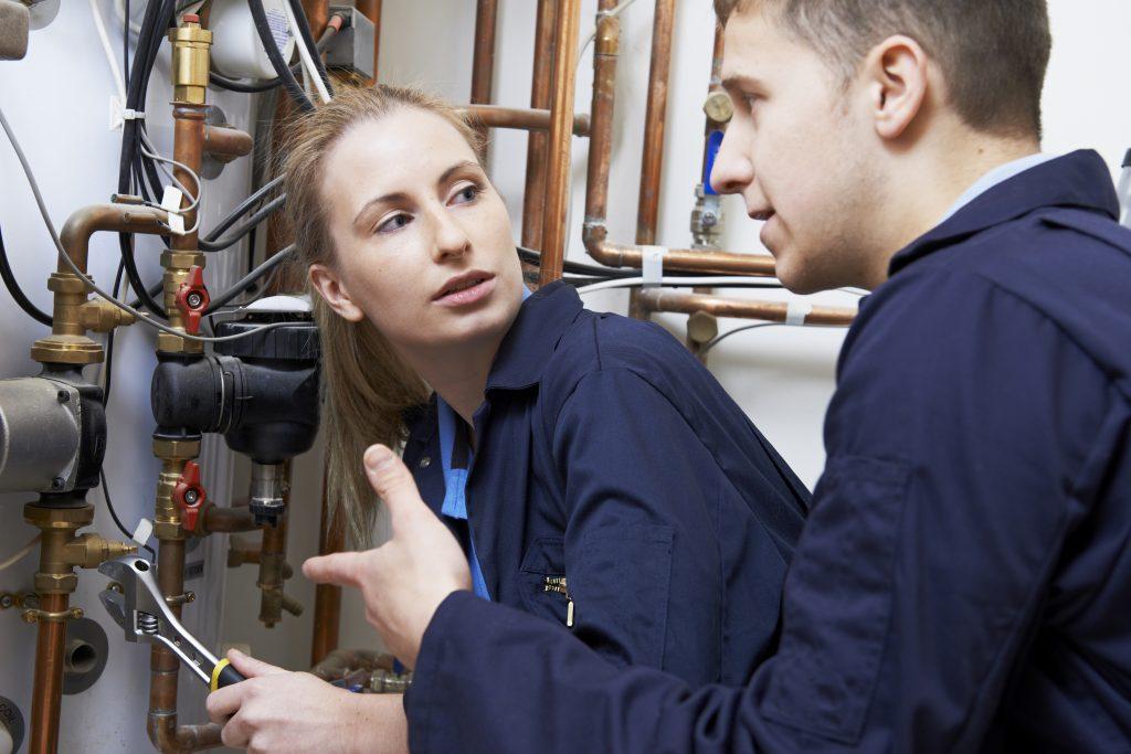 Learning plumbing